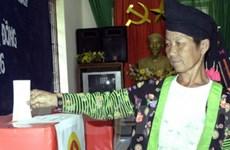 Nhiều tỉnh, thành cơ bản hoàn thành việc bầu cử