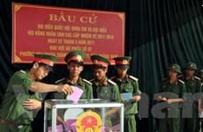 Hầu hết các đơn vị vũ trang đã hoàn thành bầu cử