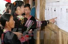 Bốn tỉnh có tỷ lệ cử tri tham gia bầu cử đạt 99,99%