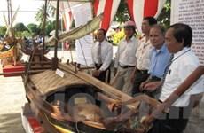 Triển lãm về di sản văn hóa biển đảo ở Quảng Ngãi