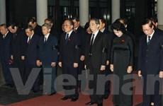 Lễ tang nguyên Phó Chủ tịch Quốc hội Vũ Đình Cự