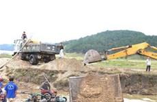 Tái diễn nạn khai thác trộm cát để lấy quặng titan