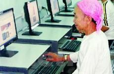 Nối mạng Internet phục vụ cho nông dân trồng lúa