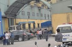 Nổ lớn tại công ty ở Thái Bình làm 11 người bị thương