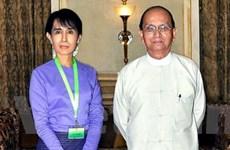 Bà Suu Kyi gặp Tổng thống Myanmar Thein Sein