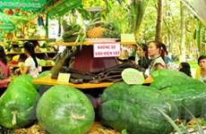 70 gian hàng đặc sản tại lễ hội trái cây Nam Bộ 2012