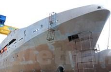 Hạ thủy tàu tuần tra đa năng của cảnh sát biển VN