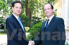Thủ tướng tiếp các nhà lãnh đạo tham dự ASEM 9