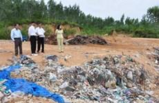 Xử lý chất thải rắn ở Dung Quất không gây ô nhiễm