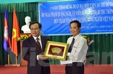 Bí thư Hà Nội thăm bà con Việt kiều ở Campuchia