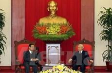 Việt-Lào triển khai hiệu quả những thỏa thuận đã ký