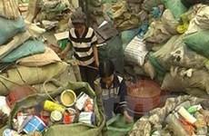 Chất thải rắn nguy hại vẫn chưa được xử lý triệt để