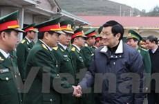 Chủ tịch nước thăm Đoàn Kinh tế quốc phòng 314