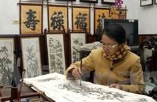 """Lập hồ sơ """"nghề làm tranh Đông Hồ"""" trình UNESCO"""