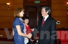 Việt Nam coi trọng vai trò của nước Đức ở châu Âu