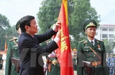 Học viện Biên phòng nhận Huân chương Quân công