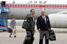 Quan chức Triều Tiên hội đàm với cố vấn Nhật Bản