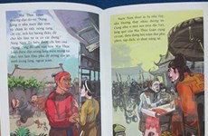 Giúp trẻ nhớ lịch sử bằng tranh truyện về danh nhân