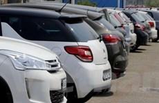 Doanh số bán xe ở châu Âu giảm xuống mức kỷ lục