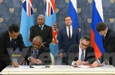 Fiji ký nhiều thỏa thuận hợp tác quan trọng với Nga
