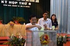 HĐND tỉnh Yên Bái lấy phiếu tín nhiệm với 15 người