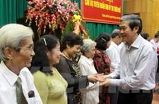 Tổ chức gặp mặt cán bộ tuyên huấn Khu ủy Trị Thiên