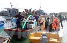 Quảng Ngãi sử dụng thợ lặn để khai quật hai tàu cổ