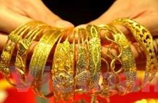 Giá vàng giảm 4 phiên liên tiếp ở thị trường châu Á