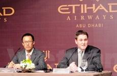 Khai trương đường bay thẳng TP.HCM và Abu Dhabi