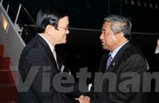 Chủ tịch nước đến Bali dự Hội nghị cấp cao APEC 21