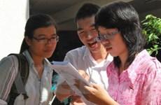Gần 560.700 thí sinh làm thủ tục thi cao đẳng