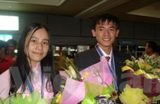 VN giành 4 huy chương Olympic Hóa học quốc tế