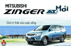 Vinastar ra mắt xe đa dụng Zinger số tự động