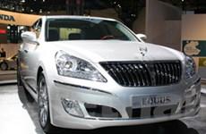 Xe cao cấp Equus của Hyundai sẽ được bán tại Mỹ