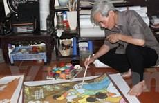 """Người họa sĩ và bộ tranh """"79 mùa xuân"""" của Bác"""