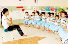 Giáo viên bậc mầm non đang quá tải giờ làm việc