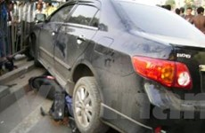 Kinh hoàng tài xế say xỉn gây tai nạn liên hoàn