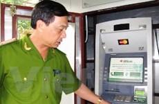 Lắp hệ thống chống trộm hiện đại cho cây ATM