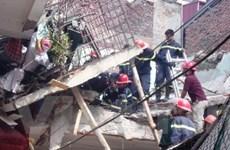 Vụ nổ gas sập nhà: Một phần là do công trình yếu?