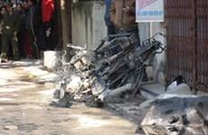 Lại nổ gas ở Hà Nội, hai mẹ con chủ nhà tử vong