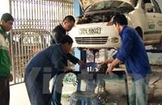 Trai làng dùng búa hành hung dã man tài xế taxi