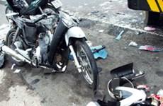 Va chạm xe, một nam thanh niên bị đánh bất tỉnh