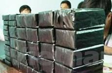 Phá đường dây vận chuyển hơn 600 bánh ma túy