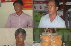 Thu giữ 60 bánh heroin của mạng lưới xuyên quốc gia
