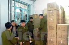 Tạm giữ 6.000 hộp Danlait của công ty Mạnh Cầm