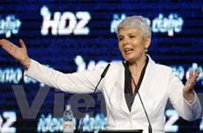 Croatia bổ nhiệm nữ thủ tướng đầu tiên