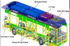 Mỹ Latinh đón chờ xe buýt chạy hydro đầu tiên