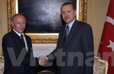 Nga-Thổ Nhĩ Kỳ thỏa thuận hợp tác năng lượng