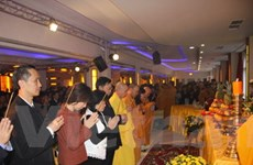 Phật tử tổ chức Đại lễ Vu Lan báo hiếu tại Berlin