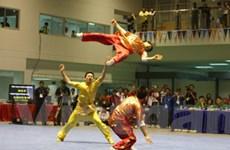Việt Nam giành tấm HCV đầu tiên ở môn Wushu